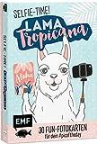 Selfie Time! Lama Tropicana: 30 Fun-Fotokarten für dein #picoftheday