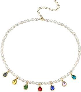 Necklace لؤلؤة الترقوة سلسلة مجوهرات المرأة الرجعية سترة قلادة تصميم ضوء القلائد الفاخرة للنساء Simple necklace