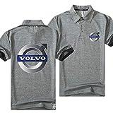 XRDDP T-Shirt Unisexe Polo pour sous-Chemise Volvo T-Shirt Décontracté À Manches Courtes