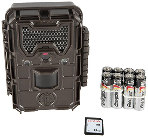 Bushnell Trophy Cam HD Essential E2 12MP Trail Camera with 8GB SD Card & 8 AA Batteries