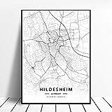 WUCHONGSHUAI Leinwanddruck,Hildesheim Deutschland