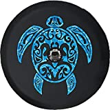 Caps Supply JL Tire Cover Sea Turtle Diving Beach Marine Life Salt Water Ocean (Fits: JL Accessories Sport with Back-Up Camera) 32 Inch 245/75r17, 255/70r18