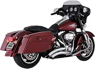 Vance & Hines 09-16 Harley FLHX2 Big Radius 2-Into-2 Exhaust (Chrome)