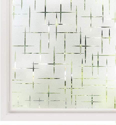Vinilo para Ventanas (Patrón Estrellado, 45 x 200 cm)
