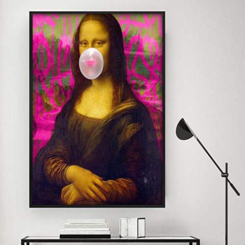 zhuziji DIY Malen nach Zahlen Bier im skandinavischen Stil an der Wand und Moderne Wohnzimmerdekoration des Wohnzimmer40x60cm(Kein Rahmen)