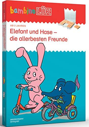 bambinoLÜK-Sets: bambinoLÜK-Set: 2/3/4 Jahre: Elefant und Hase - die allerbesten Freunde: Kasten + Übungsheft/e / 2/3/4 Jahre: Elefant und Hase - die ... (bambinoLÜK-Sets: Kasten + Übungsheft/e)