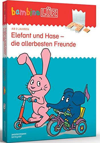 bambinoLÜK-Sets: bambinoLÜK-Set: 2/3/4 Jahre: Elefant und Hase - die allerbesten Freunde