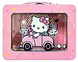 Hello Kitty XL Tin Lunchbox with Window