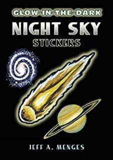 Glow-in-the-Dark Night Sky Stickers (Dover Little Activity Books Stickers)