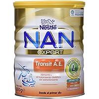 NAN Transit A.E. - Alimento en polvo para lactantes con estreñimiento - Fórmula para bebé - Desde el primer día - 800g