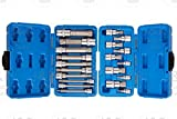 J&R Quality Tools - Juego de 20 puntas XZN de 12 mm (3 puntas cuadradas)