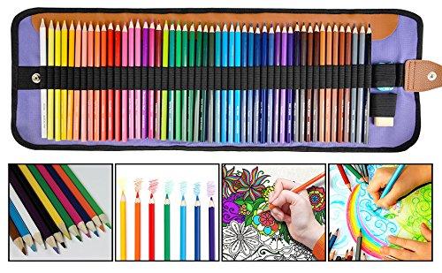 36 Buntstifte Holzstifte Hochwertige Qualität Stifte Malen in Holzbox DIY