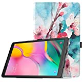 TiMOVO Folio Case for Samsung Galaxy Tab A 10.1 2019 Released, Premium Slim PU Leather Shell Cover Stand Case Fit Galaxy Tab A 10.1 2019 (SM-T510 / SM-T515) Model - Peach Blossom