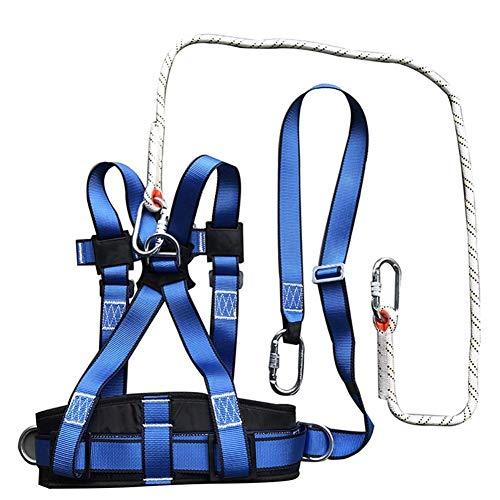 ZWWZ Sicherheitsgurt Kits, Half Body Auffanggurt Schutz Sicherheit 5 Punkteinstellung Mit Buffer Rope International Standard Aerial Work Power Construction Mahfei Fall HAIKE