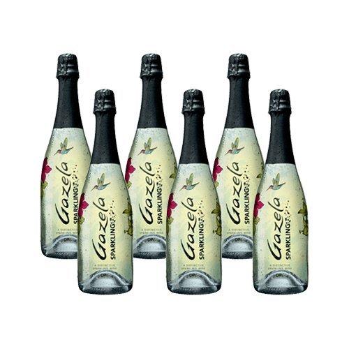 Gazela Sparkling - Schaumwein- 6 Flaschen