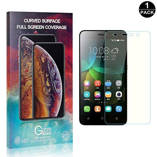 Bear Village® Displayschutzfolie für Huawei Honor 4C, 3D Touch, Keine Luftblasen, 99% Transparenz Schutzfolie aus Gehärtetem Glas für Huawei Honor 4C, 1 Stück