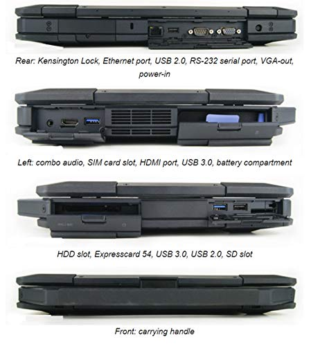 Comparison of Dell Latitude Rugged 14 5404 Toughbook vs Dell Latitude 5410 (10300920)