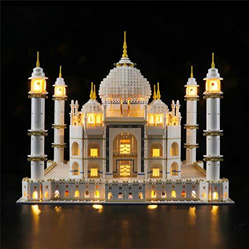 LODIY Beleuchtung Licht Set für Lego 10256 Taj Mahal Creator - LED Beleuchtungsset für Lego 10256 (Nicht Enthalten Lego Modell)