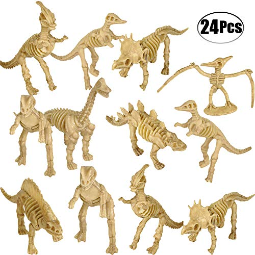 NUOLUX 3Pcs Assorted Fossil Skeleton Toys Creative Unique Fun Toys for Children