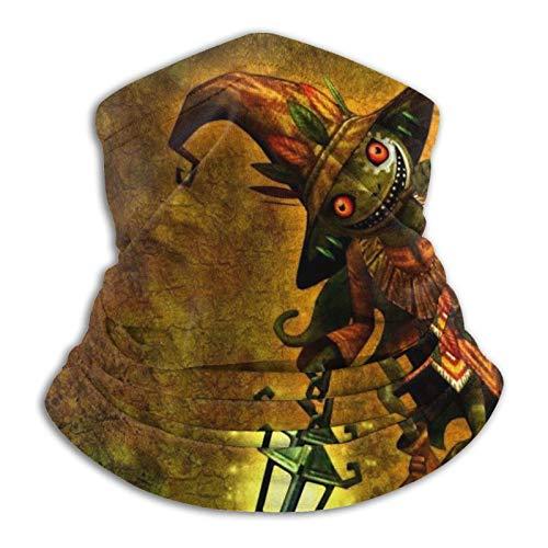 Coodream The Legend of Zelda - Polaina de cuello multifuncional de microfibra a prueba de polvo, pasamontañas, pañuelos, calentador de cuello bufanda para clima frío y deportes al aire libre