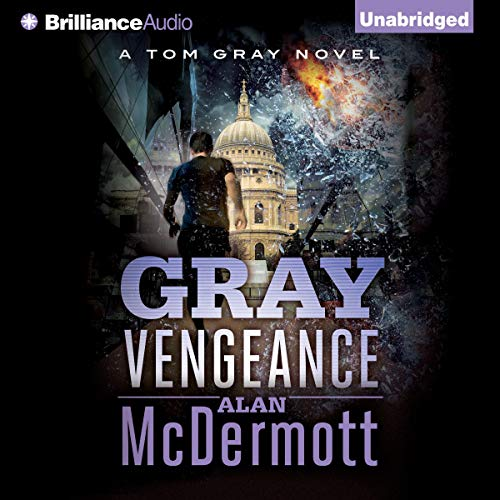 Gray Vengeance audiobook cover art