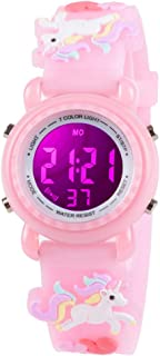 Kids Watches for Girls Boys 3D Cartoon 30M Waterproof 7...
