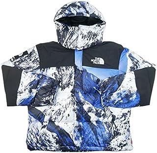 SUPREME シュプリーム ×THE NORTH FACE 17AW Mountain Baltoro Jacket バルトロジャケット 白青 L 並行輸入品