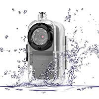Toughsty? 1920x1080P HD Mini Action Video Camera Outdoor Sports Waterproof Underwater Sound Activated DV Camcorder with Audio Recording [並行輸入品]