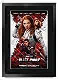 HWC Trading FR A3 Black Widow Scarlett Johansson Geschenke