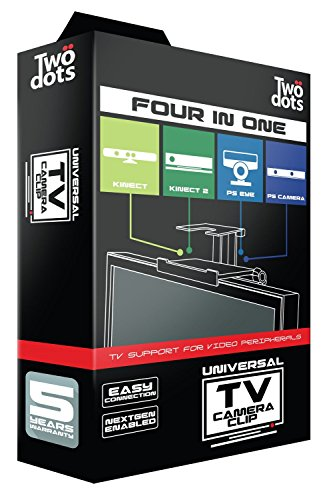 PS4 - Universelle TV-Halterung Four in One (für PS3 & PS4 Kamera, Xbox 360 & Xbox One Kinect)