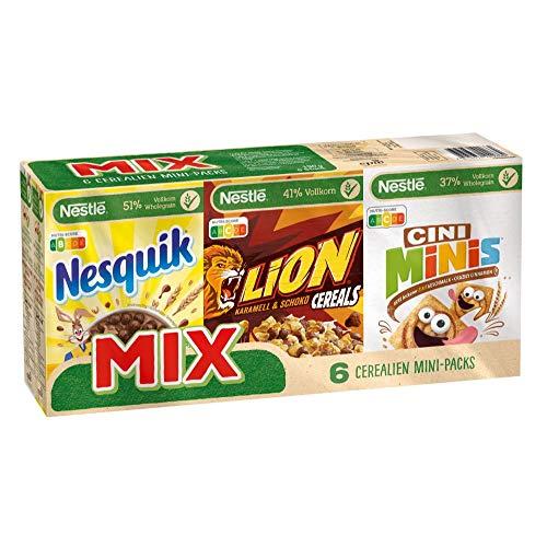 Nestlé Mix Cerealien Mini Packs, 6 Stück (6 x 190g)