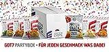 Neu GOT7 High Protein Chips Snack 40% Protein Fitnesssnack – Ideal Zur Diät Fitness Bodybuilding 6x 50g (Partybox)
