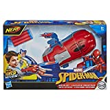 Spider-Man NERF Power Moves Marvel Web Blast Web Shooter NERF Dart-Launching Toy for Kids Roleplay, Toys for Kids Ages 5 and Up