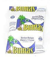 Bumas サンタンクラパ(ココナッツクリーム)、6液量オンス(6パック)