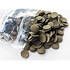 (200g) Super Aquarium Vegetable Spirulina Algae Sinking Wafers Bottom Feeders, Catfish, Pleco Tropical Fish ...