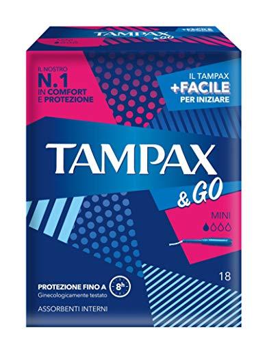 Tampax & Go Tamponi, 18 Stück