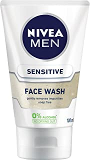 NIVEA MEN Sensitive Face Wash, 100ml
