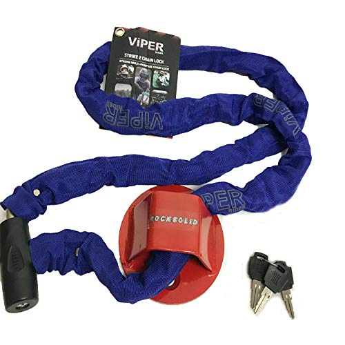 VIPER Rocksolid Security A40 Strike Chain Lock 8x1500
