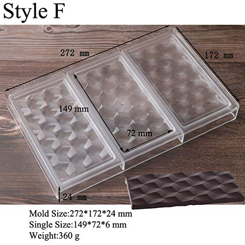 Fantastic Prices! Cake Pans, Tokyo Summer Love Diamond Polycarbonate Chocolate Molds Child Hard Cand...