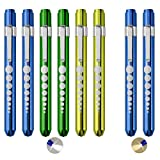 Pen Light with Pupil Gauge LED Medical Pen Lights for Nurses...