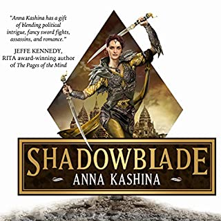 Shadowblade audiobook cover art