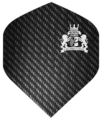 Royal Darts Flights Professional (5 Sets (15 Flights), Carbon)