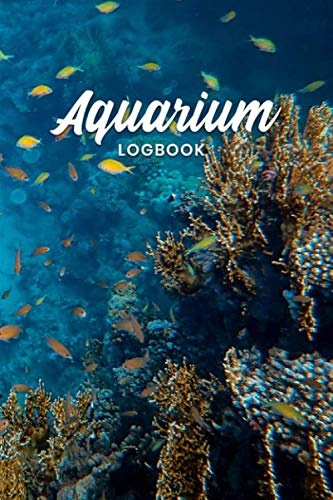 Aquarium Fish Tank Fishkeeping Log Book Journal Notebook Diary Planner - Yellow Fish: Aquaristics Record with 120 Pages In 6' x 9' Inch - Gift Idea for Zoologists & Marine biologists