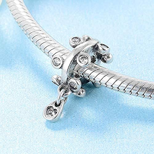 Charm Kralen,925 Sterling Zilver Kroonluchter Druppels Bedel Kralen Voor Sieraden Maken Originele Charm Armbanden Armbanden
