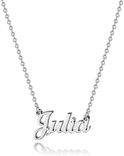 Hidepoo Custom Name Necklace Personalized