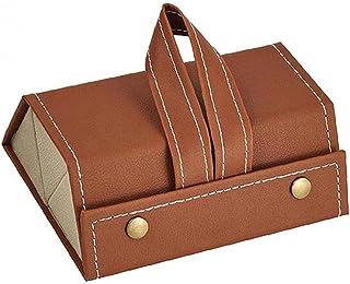 3-Slot Lunettes Multifonctionnel pliable Lunettes de stockage Organisateur Collector Brown, Cuisine Gadget