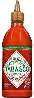 TABASCO Sriracha Hot Chili Sauce - 20 Oz. Bottle