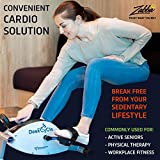 DeskCycle Under Desk Bike Pedal Exerciser – Mini Exercise Peddler – Stationary Cycle for Home &...