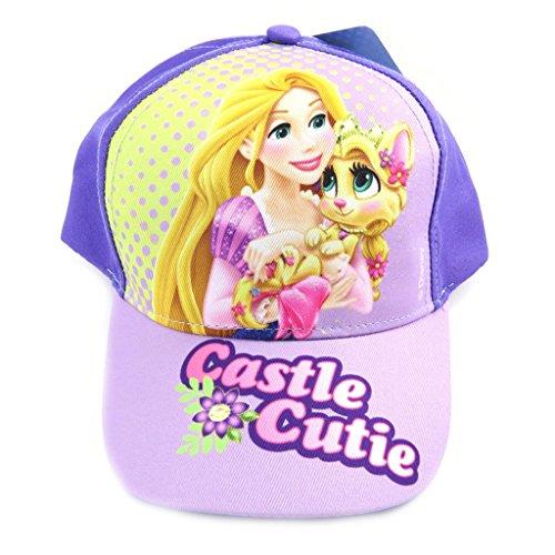 Disney [M4049 - Casquette Enfant 'Palace Pets' bleu rose (castle cutie)