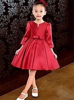 (マリア)MARIAHワンピース 女の子ドレス 子供ドレス 大きなリボン パーティードレス 結婚式 チュチュスカート ガールズ 発表会 ピアノ演奏会 ノースリップ フォーマルドレス